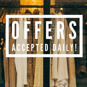 Offers Accepted Daily!